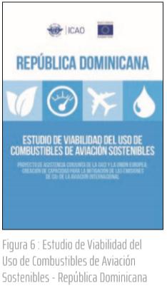 Figura 6 : Estudio de Viabilidad del Uso de Combustibles de Aviación Sostenibles - República Dominicana